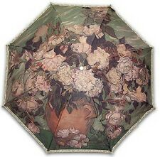"Gogh ""ROSES"" famous printing 3steps auto folding umbrella"
