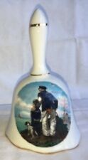 "1982 Norman Rockwell 5"" Bell Looking Out To Sea"