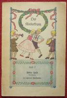 """UNSER HELD von Helene Christaller Heft 7 """"Der Kinderkranz"""" um 1910 mit 16 Seiten"""
