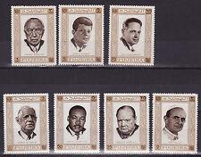 Fujeira mnh stamps mi 374-380 world peace 1969