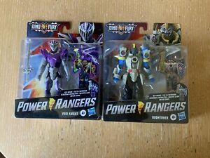 Power Rangers Dino Fury  2 Villains - Void Knight & Boomtower.New L@@K