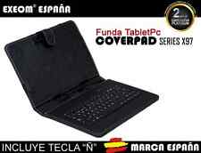 """Funda con Teclado en Español para Tablet Pc 9.7"""" Funda Teclado Marca España"""