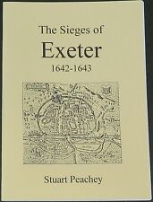 EXETER SIEGES 1642-1643 English Civil War History Battles Forces Artillery ECW