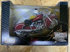 Maisto 1:18 Special Edition Die Cast Metal 1990 Motorcycle Red