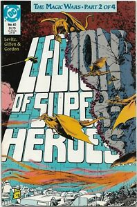 Legion of Super-Heroes (1988) #61 - VF/NM - The Magic Wars