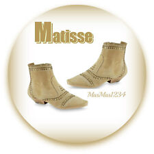 Coconuts by Matisse Women's Sultan Suede Ankle Bootie - Stylish - Size US 7 Tan