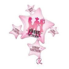 party posse in town Super Shape 81 cm x 89 cm 23110 Balloon free P & P UK
