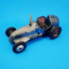 Tether Race Car Quarter Midget Real McCoy Gas Engine Powered 1950s Cast Metal