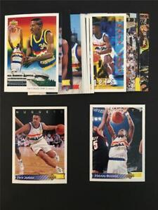 1992/93 Upper Deck Denver Nuggets Team Set 18 Cards