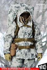 1/6 SUPERMCTOYS M-063 USMC Marine Corps Snow Marpat Camo sets