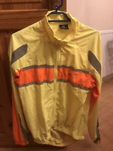 Polaris Cycling Jacket (Hi Vis) Medium