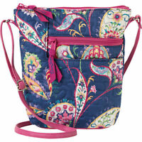 Donna Sharp Penny Quilted Patchwork Crossbody Bag  Cross-Body Bag NEW