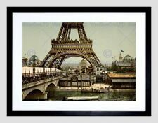 Vintage Eiffel Tower Framed Decorative Posters & Prints