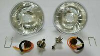 Lucas Headlamp Headlight Halogen Conversion Kit Land Rover Series 1 2 2a 3 LHD