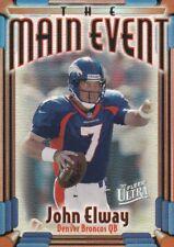 John Elway - 1997 Fleer Ultra (The Main Event) Football Sammelkarte