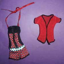 Monser High Doll Clothes Gloom Beach Ghoulia Yelps Outfit Swimsuit Coverup