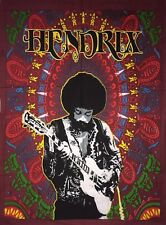 Hendrix Small Tapestry Wall Hanging Throw Poster Flag Cotton Fabric Guitar Love
