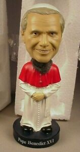 POPE BENEDICT XVI RARE BOBBLE HEAD BY BOSLEY BOBBERS BOBBLEHEAD BRAND NEW!!! MIB