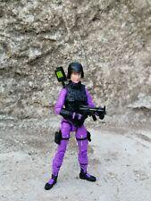 "Custom 1/18 female Cobra engineers figure 3""3/4 Gi Joe MTF"
