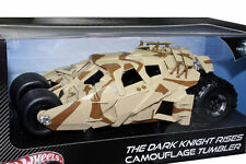 1:18 HOTWHEELS THE DARK KNIGHT RISES Camuffamento BICCHIERE Batmobile