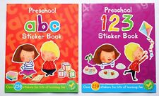 Book Learn Alphabet Numbers Counting First Learning ABC 1 2 3 Children Bundle