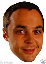 The Big Bang Theory JIM PARSONS as Sheldon Cooper - Big Head Window Cling Decal