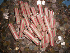 (CVBG) One Roll Canadian  Pennies(Canada melting down)Getting RARE)86 &---