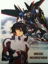 """Gundam Seed Destiny Large Fabric Banner Poster 43"""" X 31"""" Wall Scroll Mobile Suit"""