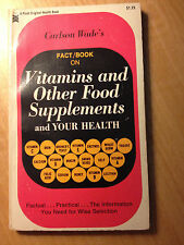 Carlson Wade's Vitamins and Other Food Supplements and Your Health store#2793