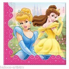 20 Disney Princesse 2PLY Jetable Fête D'Anniversaire Serviettes en papier