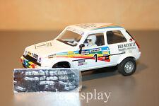 Slot SCX Scalextric Altaya Renault 5 Copa C. Sainz - Jarama 1983 - Limited Ed.