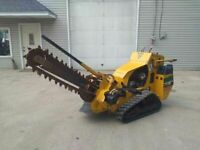 """2016 Vermeer RTX250 Walk Behind 3' Track Trencher 36"""" x 4"""" Trench RTX 250"""