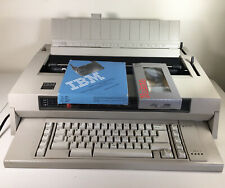 Ibm Wheelwriter 3 Iii Electronic Electric Typewriter With New Ribbon Tested