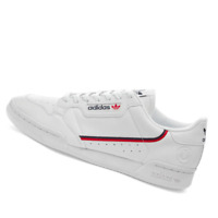 ADIDAS MENS Shoes Continental 80 Vegan - White, Navy & Scarlet - FW2336