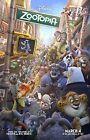 Внешний вид - Walt Disney's Zootopia movie poster print  :  11 x 17 inches