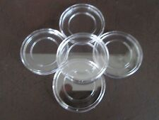 5 Direct Fit COIN CAPSULES, 27mm for 1/2 oz GOLD or 1/2 oz PLATINUM Coins