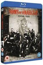 Sons of Anarchy Season 4 BLURAY DVD Region 2