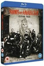 Sons of Anarchy Season 4 Blu-ray UK BLURAY