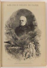 Mémorial illustré des Deux sièges de Paris, Lorédan Larchey, 2e édition, 1874