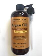 MAJESTIC PURE ORGANIC ARGAN OIL RESTORATIVE HAIR CONDITIONER- 16oz.- NEW