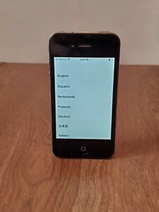 Apple iPhone 4 - 8GB - Black A1332 Tested and Working ~ Clean ~ Factory Reset