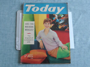 Today Magazine April 9th 1960 - featuring Peyton Place, Alistair Maclean & more.