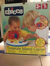 GIOCO GIOCATTOLO CHICCO COSTRUZIONI ISOLA DEL TESORO TREASURE ISLAND BOARD GAME