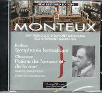 BERLIOZ - SYMPHONIE FANTASTIQUE - CHAUSSON - MONTEUX - RECORDINGS 1945/1952