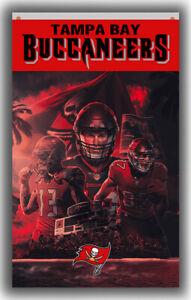 Tampa Bay Buccaneers Football Team Flag 90x150cm3x5ft Fan Apparel best banner