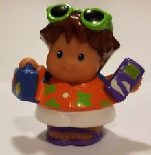Fisher Price Little People Tourist Vacation Sunglasses Backpack Cell Phone Bag