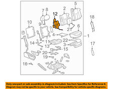 GM OEM Front Seat-Lumbar Support Right 88940325