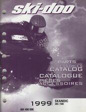 1999 Ski-Doo Snowmobile Skandic 380/500 Parts & Accessories Manual (266)