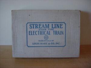 Marx Streamline O Gauge Electric Train Set #4915S – Preowned