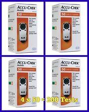 Accu-Chek Mobile Blood Glucose Diabetic Test Strips/Cassettes x 4 -NEW -RRP £160